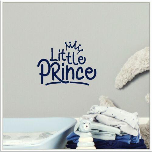 Garçons Nurserie Citation Autocollant Mural Decal Petit Prince Enfants Chambre à Coucher Décor Enfants