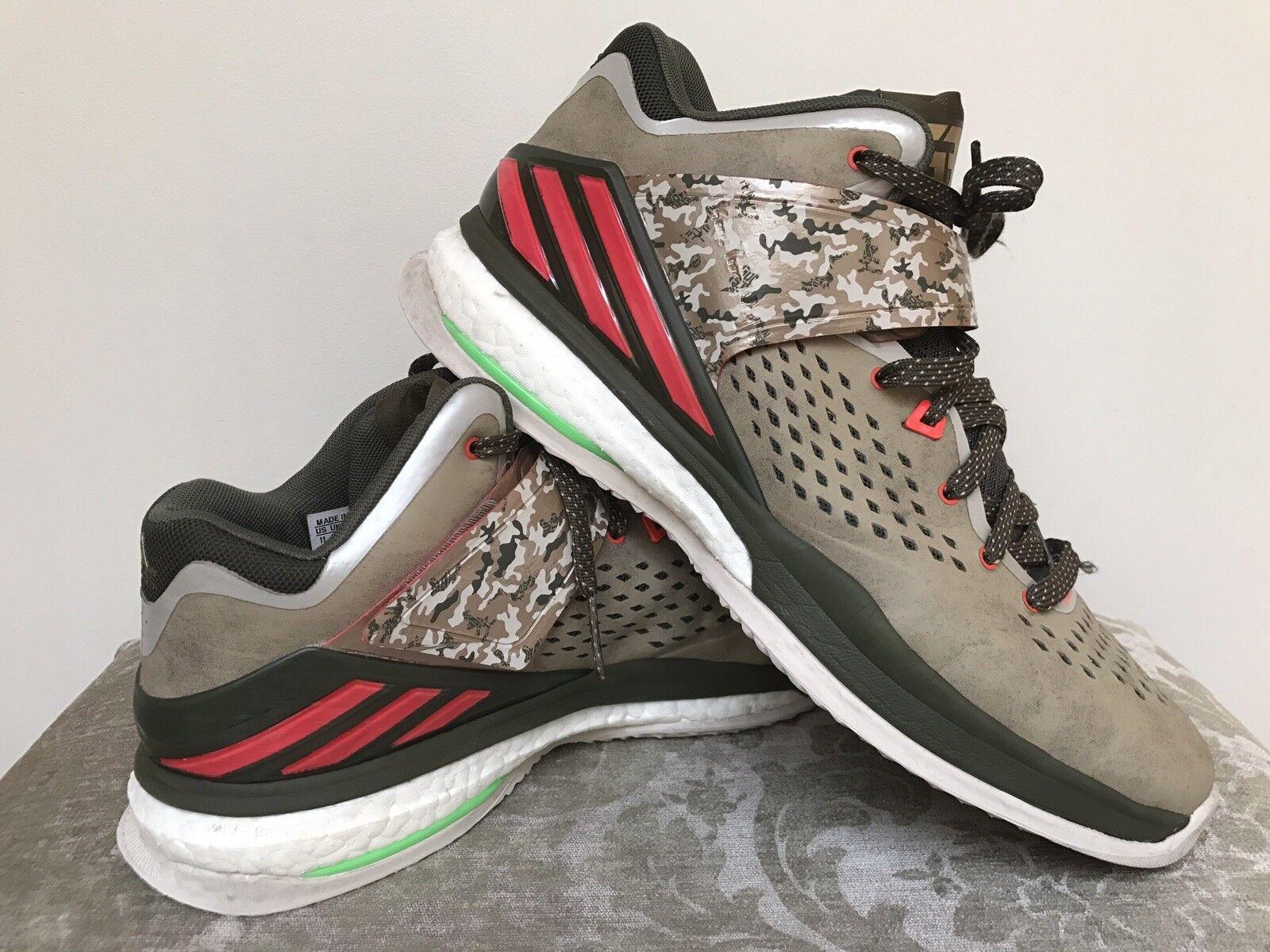 Robert Griffin III RG3 Energy Trainer Boost de Adidas para hombre Calzado Camo Tamaño EE.
