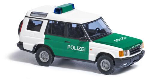 Busch 51911 Land Rover Discovery Polizei 1:87//H0 Neu//OVP