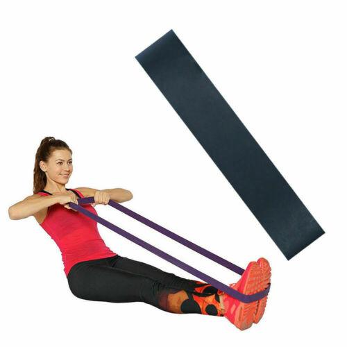 Résistance Stretch Boucle Bande Physio Gym Yoga Fitness Élastique Ceinture Jambe Séance d/'entraînement 5X