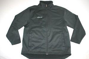 outlet store sale 83186 12e4f Details about NY Jets NFL Soft Shell Fleece Lined Windbreaker Jacket Men M  Black NEW