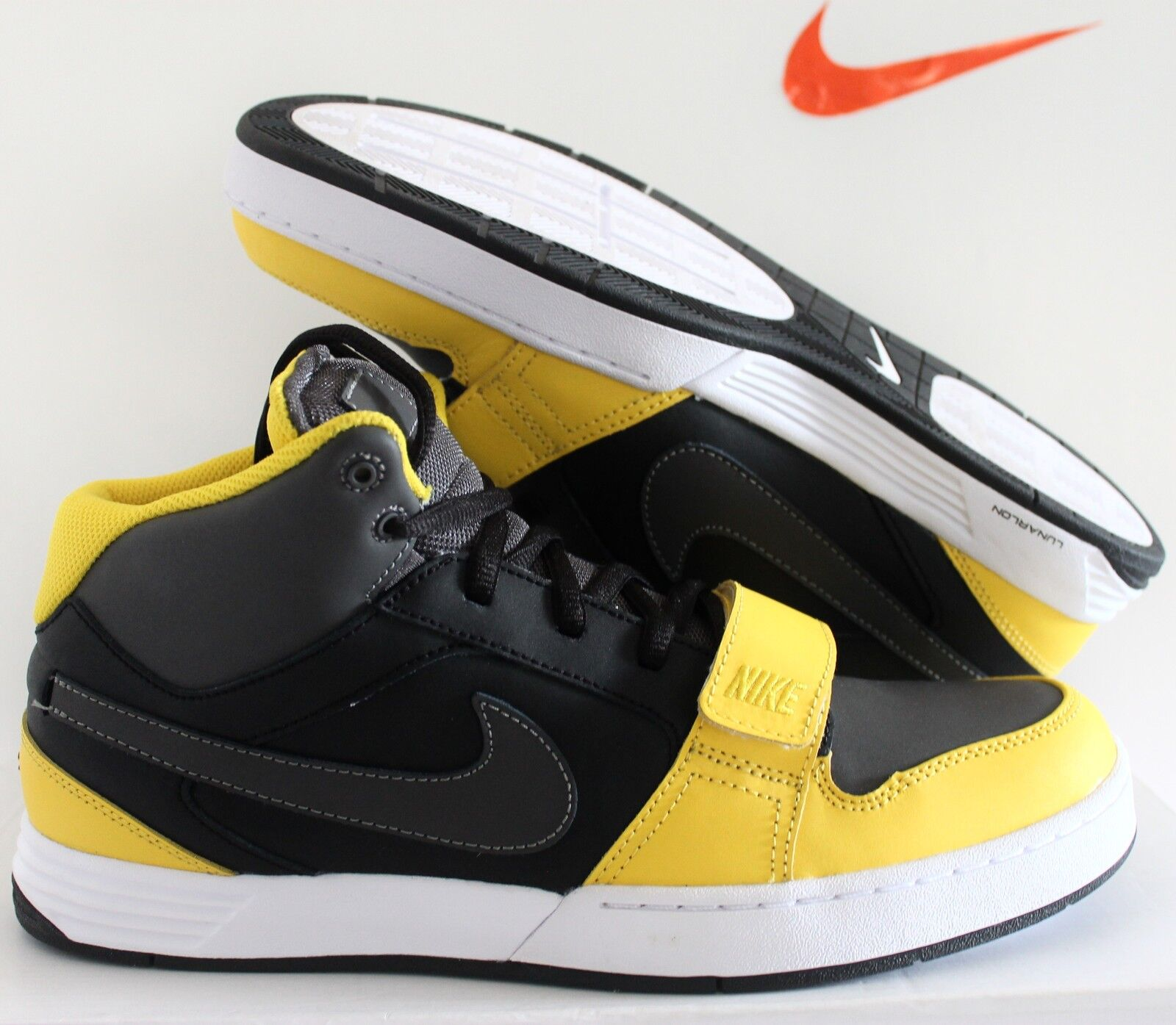 Nike Air Mogan SZ id Negro-Blanco-mustard SZ Mogan 10,5 [532018-991] 633b89