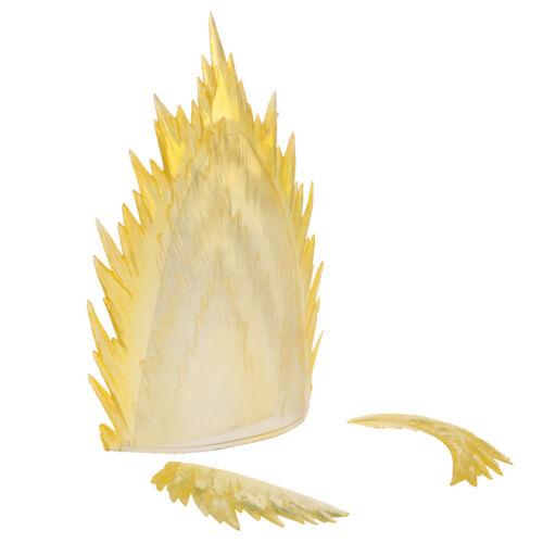 Gelb explodieren Effekt Stand Hodler für Dragonball Saint Seiya Action