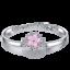 Womens Fashion 925 Sterling Silver Zircon Love Heart Infinity Charm Bracelet