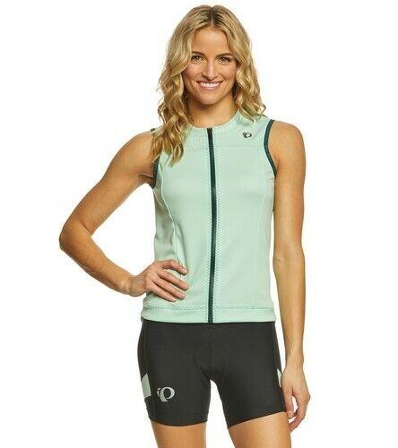 Mist Green Pearl Izumi Women/'s Elite Escape Sleeveless Cycling Jersey