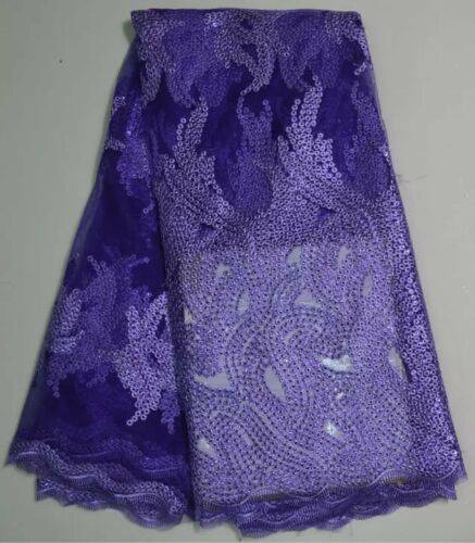 african french net lace fabric embroided floral fabric for women party dress 5yd