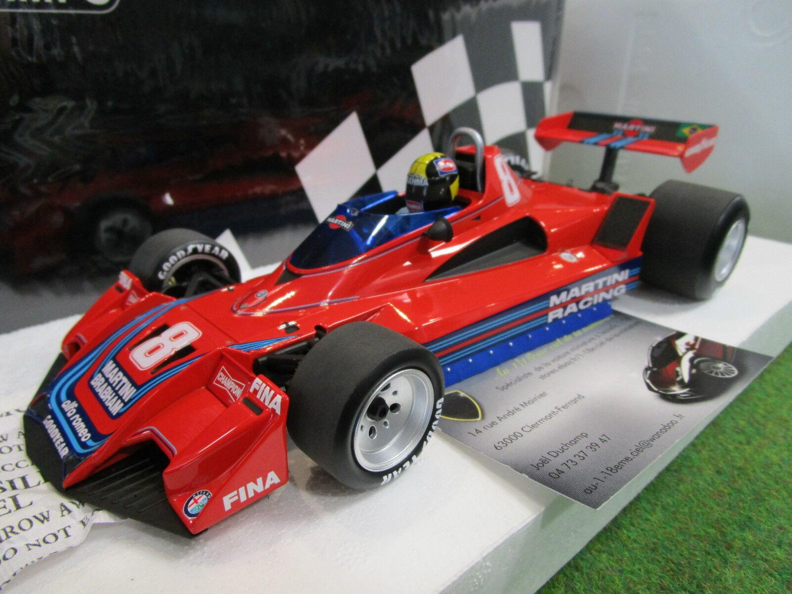 BRABHAM ALFA ROMEO BT45B   8 C.PACE 1977 F1 1 18 MINICHAMPS 110770108 formule 1