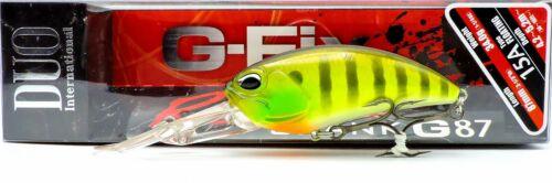 Duo Realis Crank G87 15A Deep Dive 16ft Floating Crankbait AJA3055 Chart Gill Ha