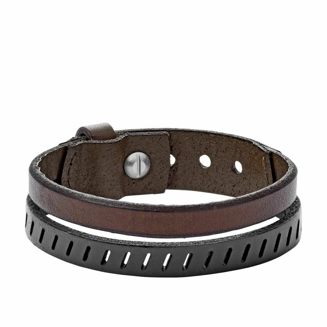 Fossil Men's Bracelet Vintage Casual Leather Ja6927040