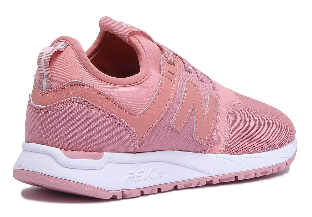 New Balance UK WRL247CR  Damens Mesh Pink Trainers Größe UK Balance 3 - 8 706a93
