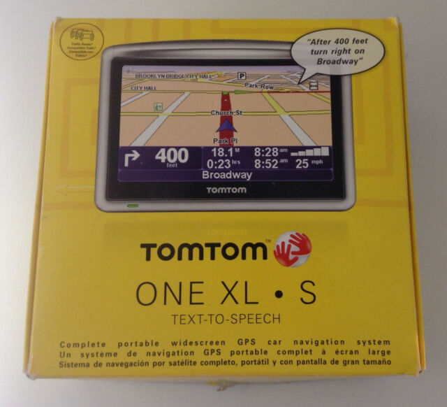 TomTom ONE XL S - US (including Puerto Rico), Canada Automotive Mountable  GPS Receiver