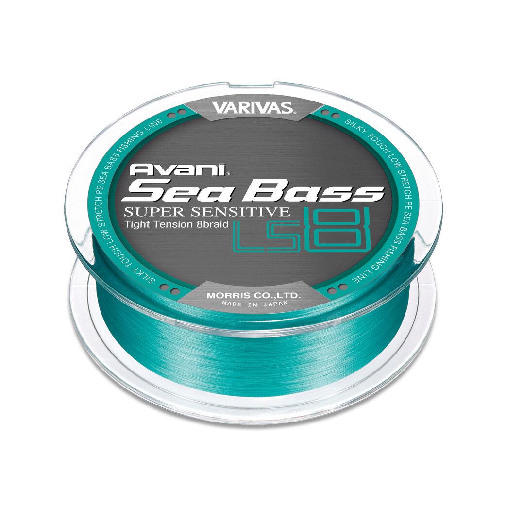 VARIVAS Avani Seabass PE SUPER SENSITIVE LS8 150m Blau Grün  8Braid line