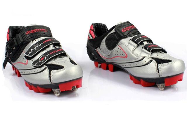 Mountian MTB Race Bike Cycling Shoes Size UK 8 / 8.5 / 9 or EU 42 / 43 / 44