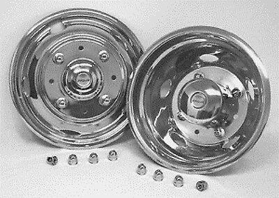 "1999 2000 2001 2002 Ford f450 f550  Wheel simulators liner 19.5/"" 8lug 2wd 4wd"
