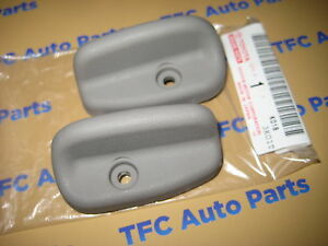 Toyota tacoma seat side recline handles rh lh light gray genuine image is loading toyota tacoma seat side recline handles rh amp publicscrutiny Images