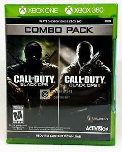 Call-of-Duty-Black-Ops-1-amp-2-Combo-Pack-Xbox-360-Xbox-One-Brand-New