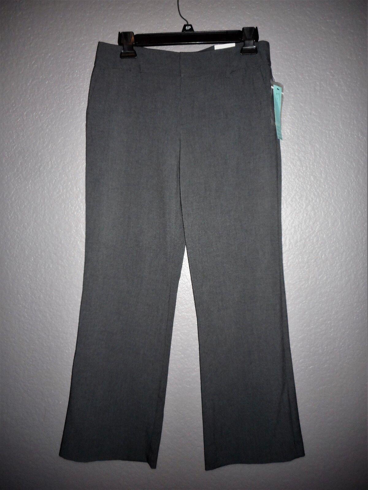 Lane Bryant CLASSIC Trouser Plus Size 26P 26 Petite 4X DARK GRAY Dress Pants NWT