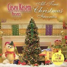 CASEY KASEM All-Time Presents Christmas Favorites 2 CDs SET 2004 Eartha Kitt