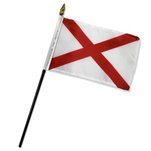 "Wholesale Lot of 6 St Patrick/'s Cross 4/""x6/"" Desk Table Stick Flag"