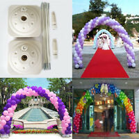Large Balloon Arch And Column Kit Water Base Wedding Event All Occasions Diy Kit