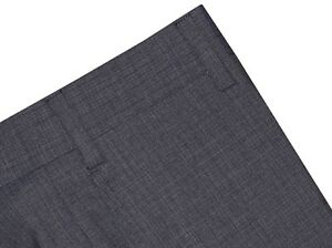 365-NEW-ZANELLA-NORDSTROM-DEVON-DK-BLUE-GRAY-130-039-S-WOOL-DRESS-PANTS-38