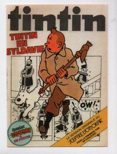 Tintin en Syldavie Carte TINTIN PASTICHE Collection Tintinorama