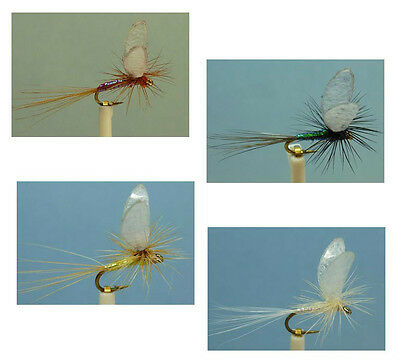 Sizes and Qty ~ Artflies Realistic Extended Body Dry Flies ~ Choose Patterns
