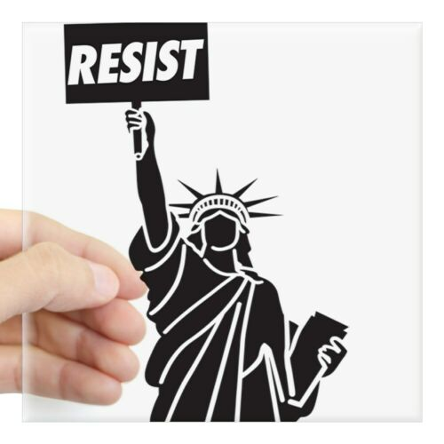 2043488264 CafePress Resist Sticker Square Sticker