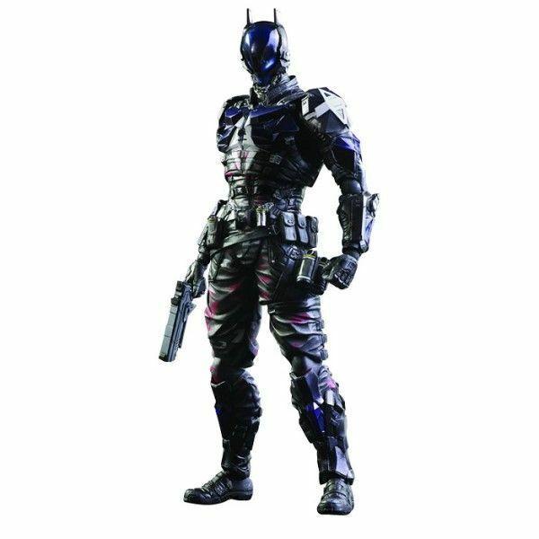 estilo clásico Square Enix Arkham Knight Batman Figura De Acción Jugar Jugar Jugar Arts Kai-Nuevo Auténtico  marca en liquidación de venta