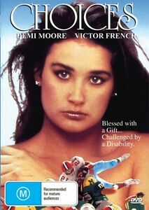 CHOICES-DEMI-MOORE-VERY-RARE-NEW-amp-SEALED-DVD-FREE-LOCAL-POST