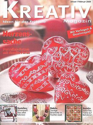 Kreativ Magazin - Ideen für das Frühjahr  Januar/Februar 2009