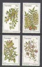 Transkei 1978 Edible Wild Plants/Flowers 4v set  n21858