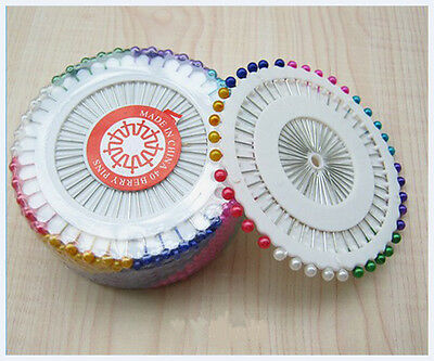 Indeed Good 480X Mixed/Pearl Ball Head iron Straight Pins Needles Garment ATAU