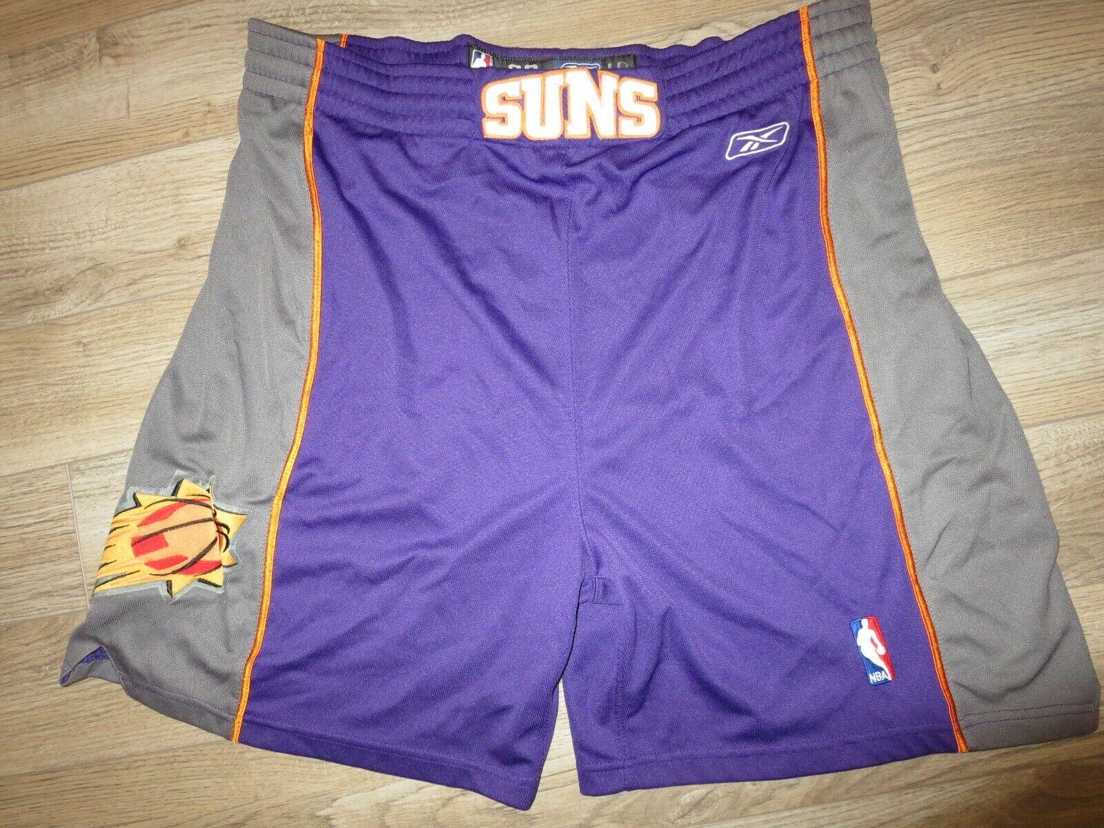 Phoenix Suns NBA Reebok Game Worn Used Basketball courtes 36