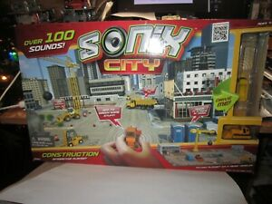 Sonix City Toy Airport Interactive Playset Interactive Sound Micro Vehicles Kids