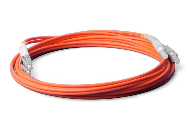 LWL LC/UPC-SC/UPC Patchkabel, Duplex, OM2, 50/125um 3.0mm, 7m Lichtwellenleiter