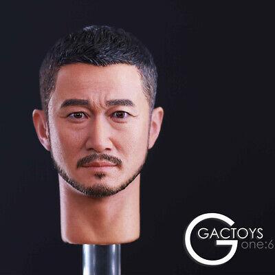 "GACTOYS 1//6 Jason Wu Jing Head Sculpt Carving GC026 F 12/"" Male Action Figure Toy"
