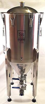 SS Brewing Tech 14 Gallon Conical Fermenter Stainless Fermentor Half Brew Bucket