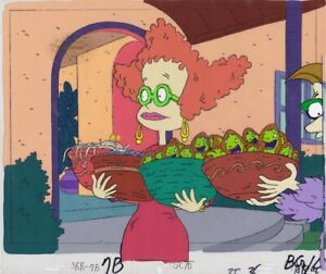 RUGRATS-Production-Cel-Cell-Original-Animation-Nickelodeon-Reptar-90s-Halloween