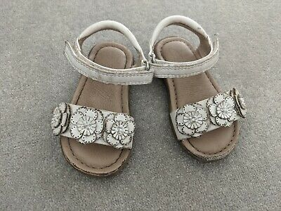 NEXT Baby Girls White Sandals Shoes