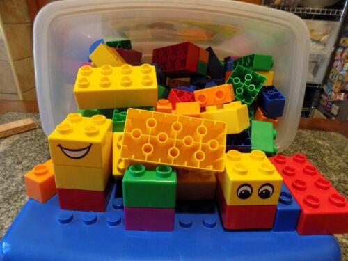 LEGO DUPLO XXL NUMERO 5358 CON MATTONI ROSSO VERDI BLU GIALLI