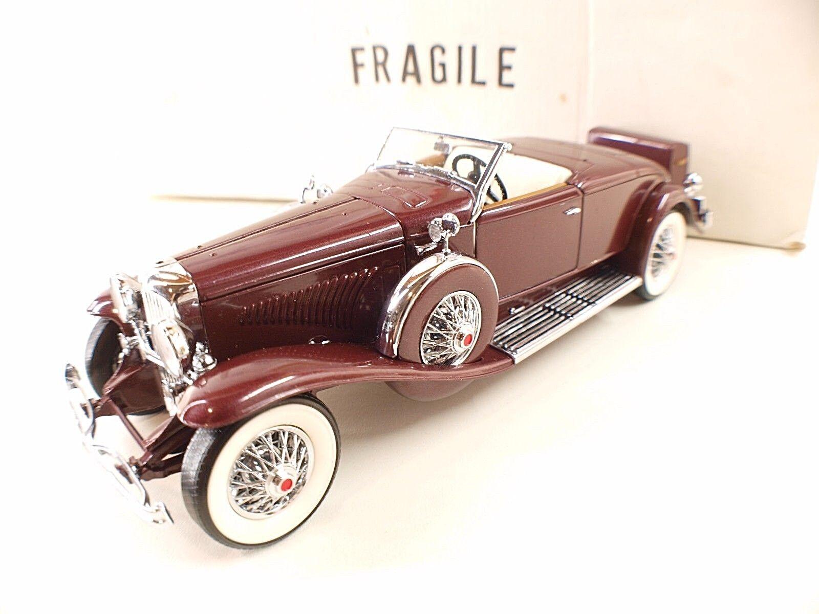 Franklin Mint Duesenberg Model J J J décapotable 1935 neuf en boite 1 24 MIB 8fa026