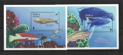 2001 Turks & Caicos Islands Whales SG 1672 2 Muh MS