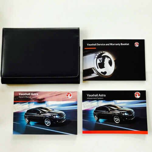 NEW BLANK SERVICE BOOK 2008 To 2011 VAUXHALL ASTRA OWNERS MANUAL HANDBOOK PACK