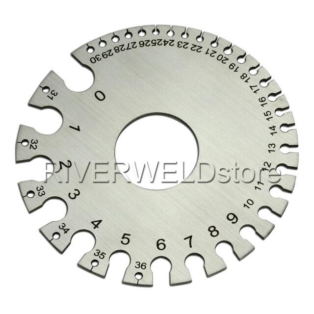 Round wire gauge diameter gage welding inspection gauges ebay round wire gauge diameter gage welding inspection gauges greentooth Image collections
