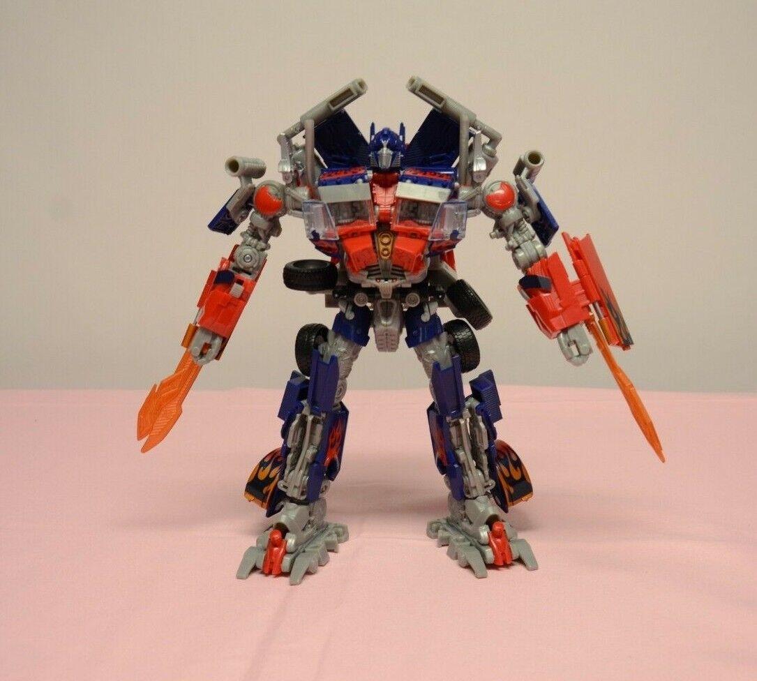 Transformers rossoF Optimus Prime Leader classe Hasbro completare