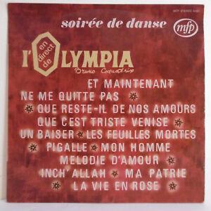 Detalles De 33t Noche Danse Olympia Coquatrix Vinilo Lp Becaud Brel Trenet Aznavour Piaf