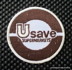 U-SAVE-SUPERMARKET-EMBROIDERED-PATCH-FOOD-GROCERY-CHAIN-ADVERTISING-3-1-2-034