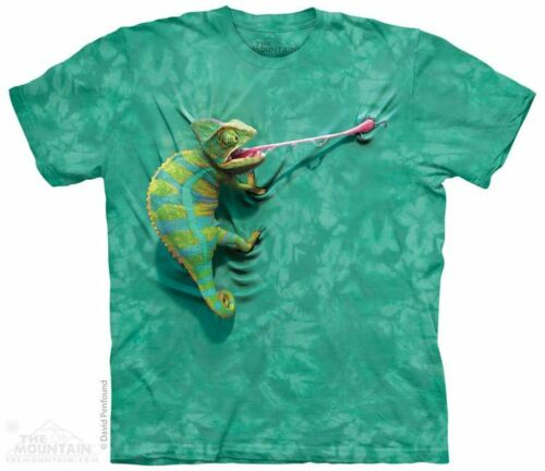 "Child /& Adult /""Climbing Chameleon/"" The Mountain  T-Shirt"