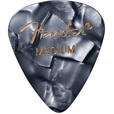12 Fender Black Moto 351 Shape Classic Premium Celluloid Medium Guitar Picks